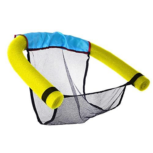Majome 60 x 150cm zwembad noedelschuim net drijvende fauteuil kinderen zwemmen hulp water noedels