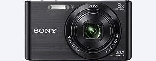 """Sony DSC-W830 - Cámara compacta de 20.1 Mp (pantalla de 2.7"""", zoom óptico 8x, estabilizador óptico), negro"""