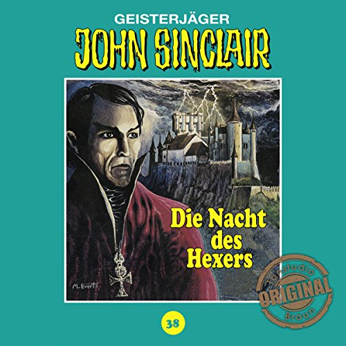 Die Nacht des Hexers (John Sinclair - Tonstudio Braun Klassiker 38) Titelbild