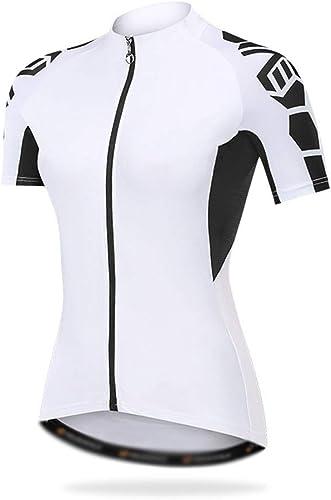 JESSIEKERVIN YY3 Maillot Cycliste Femme Printemps et en été Maillot Cycliste Maillot Cycliste