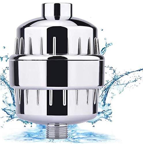 Newlemo Duschfilter, Kalkfilter - Filtert Chloramin, Fluorid und Schwermetalle, Wasserhahn Filter mit Austauschbarer Filterpatrone - Erweichen von Hartem Wasser, Schützen Sie Ihre Haut und Haare