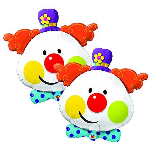 Set of 2 Smiling Clown