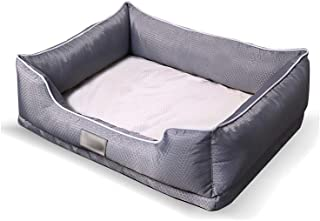 WZLJW Dog Bed Dog Basket, Comfortable Dog Sofa Cosy Pet Bed in Bedroom Living Room and Hallway Easy to Clean Detachable Covers