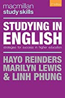 Studying in English: Strategies for Success in Higher Education (Macmillan Study Skills)