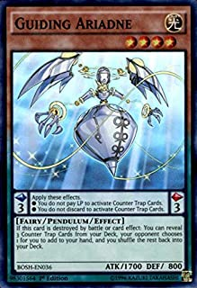 Yu-Gi-Oh!! - Guiding Ariadne (BOSH-EN036) - Breakers of Shadow - 1st Edition - Super Rare