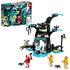 This LEGO Hidden Side building toy combines the open creative play of LEGO building playsets with an app for an amazing single or multiplayer augmented reality (AR) play experience! This haunted tree reveals an amazing digital ghost world when viewed...