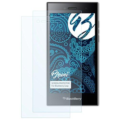 Bruni Schutzfolie kompatibel mit BlackBerry Leap Folie, glasklare Bildschirmschutzfolie (2X)