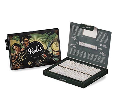 Rolls Smart Filter Tips fertig vorgerollter Filtertip,  80 Stück (5mm) VIP Pack XL (Grün)