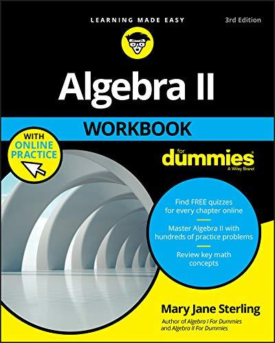 Algebra II Workbook For Dummies (English Edition)