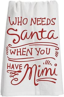Primitives by Kathy 25945 LOL Made You Smile Dish Towel, 28