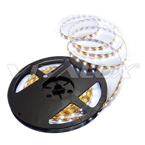Preisvergleich Produktbild Vivalux Coda LED Streifen,  60 LEDs / m,  4, 8 W / m,  12 VDC,  Rolle 5 m Cool Daylight 6400k