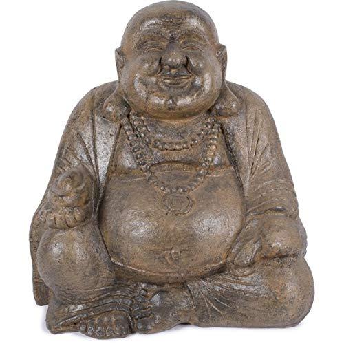 KOH DECO Statue Bouddha Chinois Bonheur 60 cm