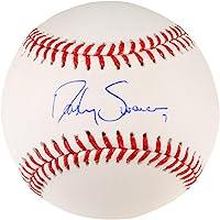 Dansby Swanson Braves Autographed Baseball - Autographed Baseballs
