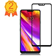 BBInfinite [2 Pack] LG G7 ThinQ Screen Protector 9H Hardness/Anti-Scratch/Anti-fingerprint/Full Coverage/High Definition/Ultra Clear/Tempered Glass