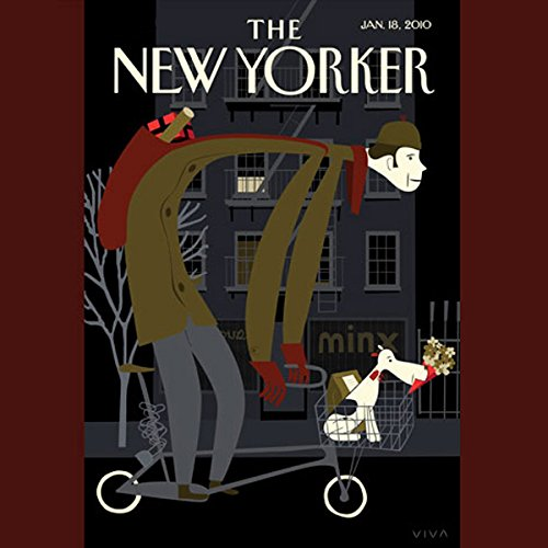 The New Yorker, January 18, 2010 (Malcolm Gladwell, Amanda Fortini, Nancy Franklin) cover art