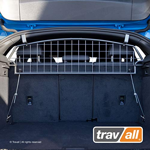 Travall Guard Hundegitter Kompatibel Mit Audi Q3 Sportback (Ab 2019) TDG1663 - Maßgeschneidertes Trenngitter in Original Qualität