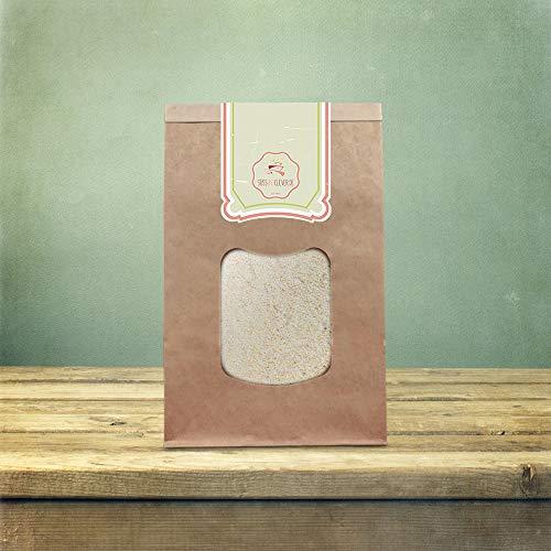 süssundclever.de® Bio Hartweizengrieß | Semola | 2,0 kg | aus Italien | plastikfrei und ökologisch-nachhaltig abgepackt