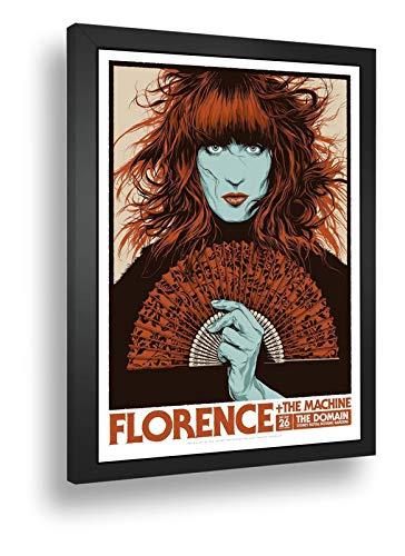 Quadro Decorativo Poster Florence & The Machine Indie Rock