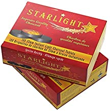 Starlight Charcoal 33mm Instant Light Charcoal Tablets