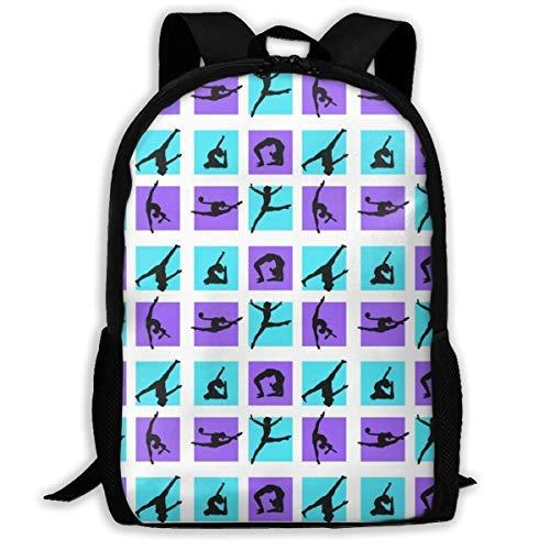 Zaino multifunzione AOOEDM backpack, gioco di ginnastica Borsa per studenti leggera e resistente Borsa per studenti universitari Zaino per laptop Zaino da viaggio casual