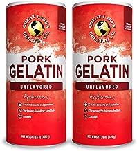 Great Lakes, Pork Gelatin, 16 Oz 2-Pack, Paleo-Friendly, Keto Certified, Gluten Free, Non-GMO