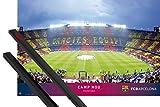 1art1 Fußball Poster (91x61 cm) FC Barcelona, Camp NOU,