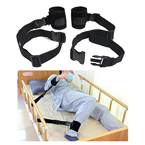 Medical Bed Restraints Straps Elderly...