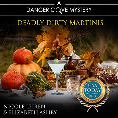 Deadly Dirty Martinis audiobook cover art