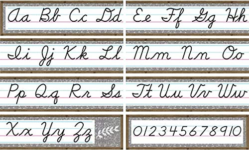 Teacher Created Resources Home Sweet Classroom Cursive Mini Bulletin Board (TCR8884)