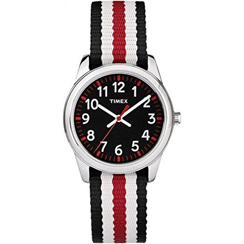 TIMEX KIDS タイムティーチャー 腕時計 TW7C10200(ブラック)