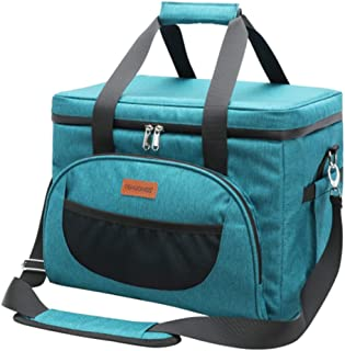 BZCSHOW 28L Soft Cooler Bag Large Reusable Grocery Bags Soft Sided Collapsible Travel Cooler Picnic Bags Custom Thermal Fo...