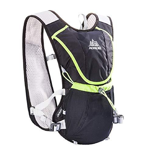 Azarxis Running Hydration Vest Rugzak Ultra Trail Race Chaleco Hidratacion 8L met Water Container voor Mannen Vrouwen Marathon Fietsen