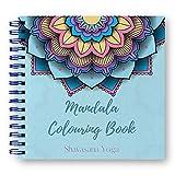 Libro de Colorear Mandalas para Adultos - 60 Ilustraciones Originales de Animales, Flores y Naturaleza. Elimina 100% el Stress y los Nervios - Papel ExtraGrueso 21 * 21