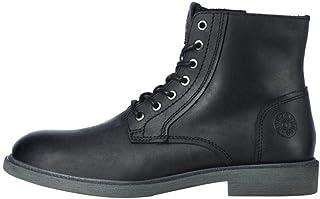 JACK & JONES Jfwkarl Leather Boot Black Ltn, Bottine Homme
