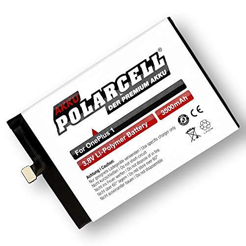 PolarCell Akku für OnePlus One 1 - A0001   ersetzt Originalakku BLP571   3500mAh
