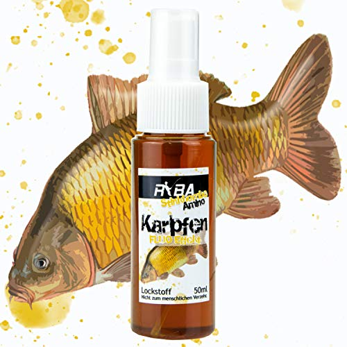 Ryba - Stinkbombe Amino Fluo - Lockstoff Spray - Karpfen/Carp - 50ml