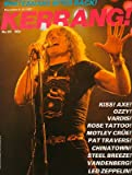 Kerrang UK Magazine 30 1982 Led Zeppelin Vardis Rose Tattoo Kiss Ozzy Motley Crue Pat Travers Chinatown Vandenberg Slade Tom Petty (UK Kerrang Magazine)