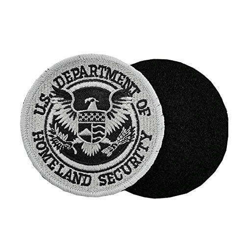 Aufnäher Dept of Homeland Security, bestickt, mit Haken und Schlaufe