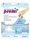 Prumi - Detergente per bucato ultra concentrato, agente illuminante non fluorescente, faci...