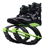 XHJL Fitness Zapatos para Saltar con Rebote Entrenamiento Pérdida de Peso Correr Botas para Saltar Botas Antideslizantes Ajustables, Diseño cómodo y Elegante, Negro (XL)
