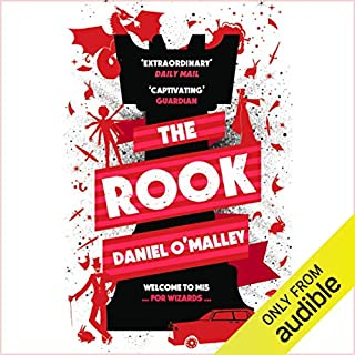 The Rook                   By:                                                                                                                                 Daniel O'Malley                               Narrated by:                                                                                                                                 Katy Carmichael                      Length: 17 hrs and 57 mins     239 ratings     Overall 4.4