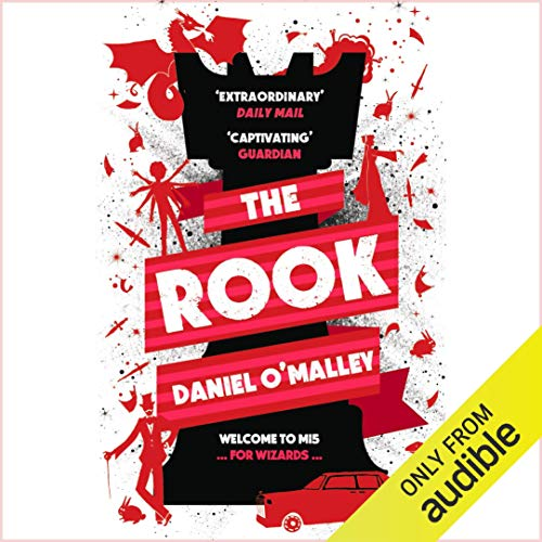 The Rook audiobook cover art