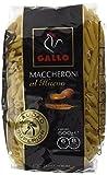 Pastas Gallo - Maccheroni Huevo Paquete 500 g - , Pack de 6