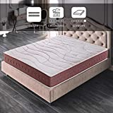 ROYAL SLEEP Colchón viscoelástico 135x190 firmeza Media, Alta Gama, Confort y adaptabilidad Total,...