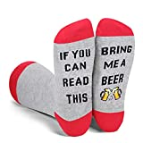 Funny Saying If You Can Read This Bring Me A Beer Socks-Funny Novelty Beer Gifts For Women Beer Lover