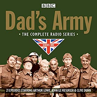 Dad's Army     Complete Radio Series One              By:                                                                                                                                 David Croft,                                                                                        Jimmy Perry                               Narrated by:                                                                                                                                 Full Cast,                                                                                        Arthur Lowe                      Length: 10 hrs and 9 mins     22 ratings     Overall 4.8
