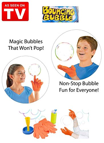 Agagadgets Juggle Bubbles Blowing Bouncing Activity Kit von As seen on TV