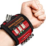Magnetic Wristband, Perfect Stocking Stuffer Gifts for Men, Tool Belt Magnetic Wristband for Holding Screws, Nails, Drill Bits, Cool Gadgets for Men, Women, Dad, Husband, Carpenters