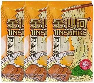 金沙河刀削麺【3点セット】 中国風ラーメン 家庭料理の素 定番 500gx3