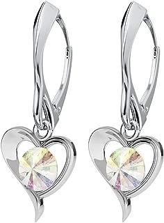 swarovski ab crystal earrings